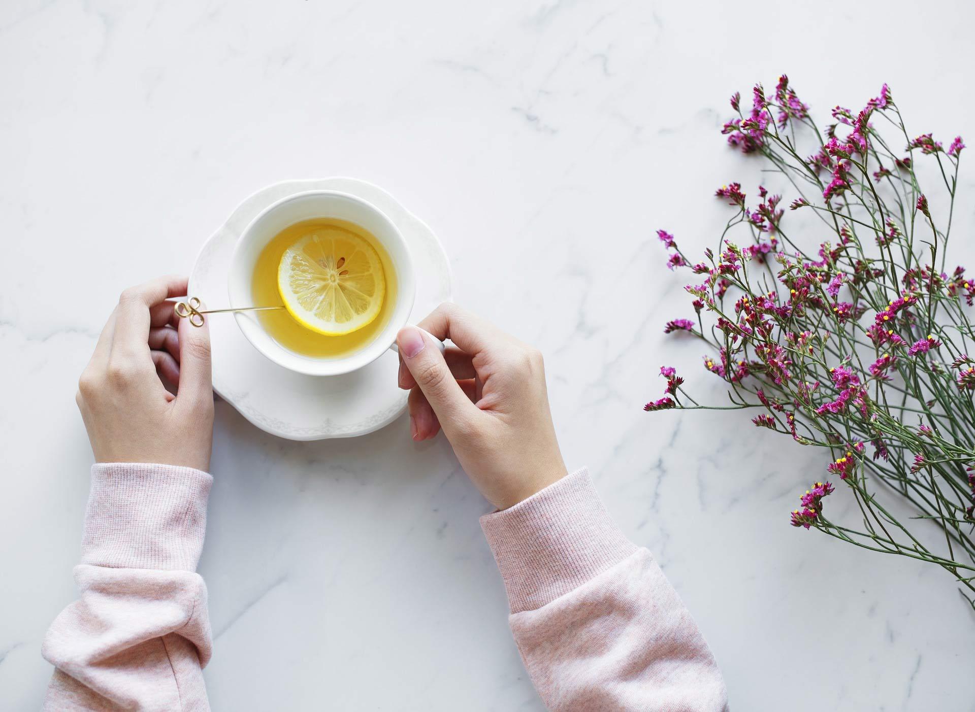 Zitrone Erkältung